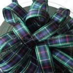 Berisfords Tartan Ribbon 8 Rose
